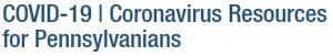 Coronavirus Resources for Pennsylvanians