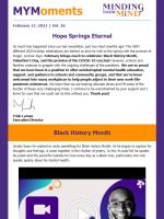 2021 February newsletter thumbnail